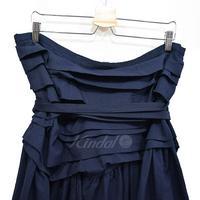 COMME des GARCONS COMME des GARCONS 製品染めポリ縮絨スカート 2007SS