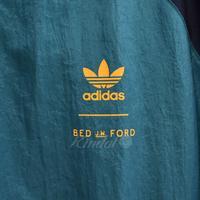 BED J.W. FORD ×adidas ロングナイロンジャケット