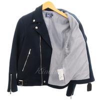 VANSON ×EDIFICE スウェットライダースジャケット 【12月9日値下】