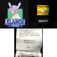 X-LARGE × FR2(Fxxking Rabbits) XLARGE collaboration with FR2 Hoodie プルオーバーパーカー