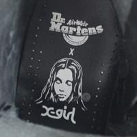 Dr.Martens×X-girl LEOPARD EMBOSS JADON レオパードエンボスブーツ